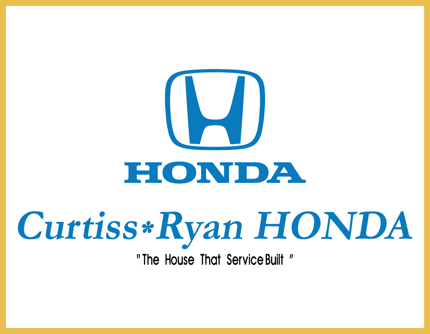 Curtiss Ryan Honda